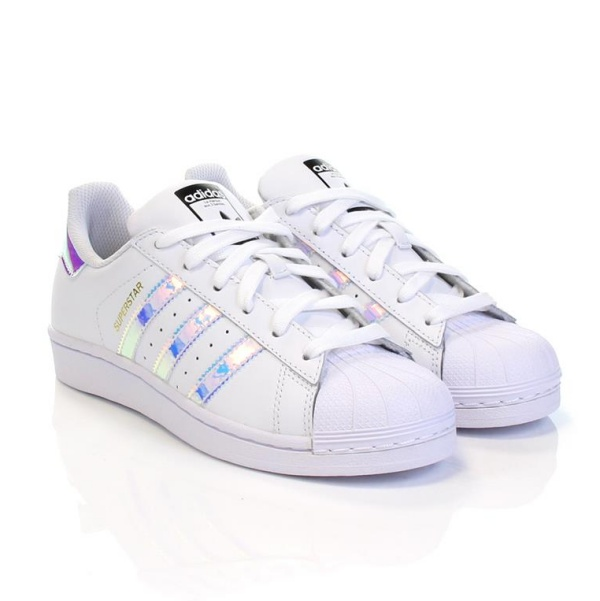 timeless design de214 11362 Adidas Originals SUPERSTAR J (blanco tornasol)