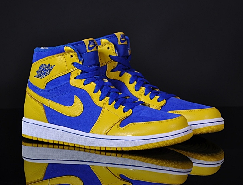 Air Jordan 1 amarillo