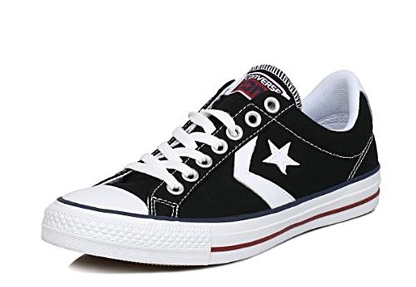 Converse Lonas All Star Player OX Niños (111blancomarinoazul)