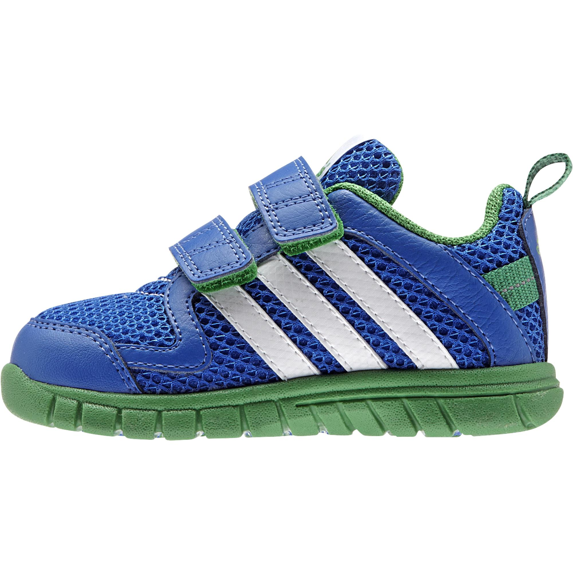info for b0df4 7163f Adidas STA Fluid 3 CF I (azul verde blanco)