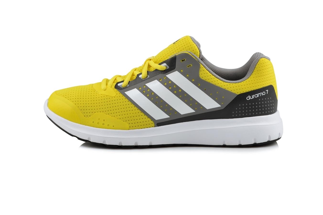 zapatillas adidas gris y amarillo