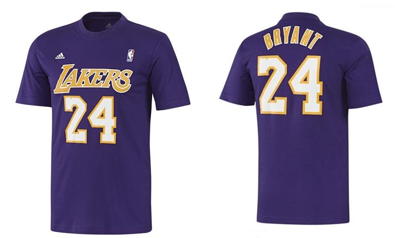 272c5a895 ... Adidas NBA Camiseta Gametime Kobe Bryant Lakers (purple)