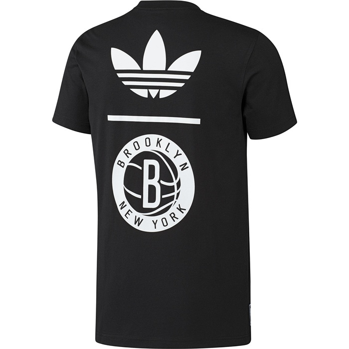 Camiseta Brooklyn Nets (negro/blanco) - manelsanchez.com