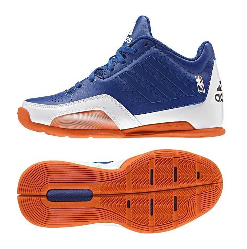 Adidas 3 Series 2015 NBA K Zapatillas für Niño Farbe Azul / Blanco