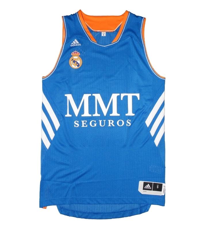 Adidas Camiseta Real Madrid Baloncesto 2013 2014 (azul blanco) b7bc71ce74b99