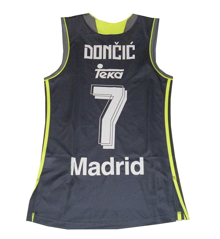 Camiseta Luka Doncic #7# Real Madrid Basket 2015-2016