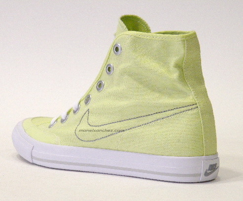 more photos 44368 9e68b ... Lonas Nike Go Canvas Mid Wmns (verde lima), Img 2