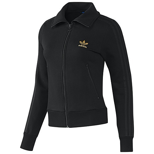 Original Firebird Chaqueta negro Adidas Fleece Mujer Tt PpUzfxn
