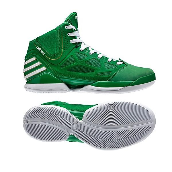 Adidas AdiZero Rose 2.5 (verdeblanco)