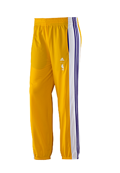 Genuino Analítico Olla de crack  Adidas Pantalón NBA Angeles Lakers (amarillo/blanco/purpura)