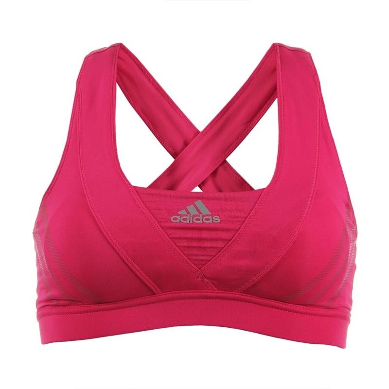 por supuesto Flexible este  Adidas Top Mujer Supernova Racer Bra (rosa)