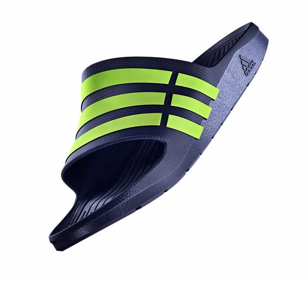 Adoración recuperar Mirar fijamente  Chanclas Adidas Duramo Slide (azul/verde) - manelsanchez.com
