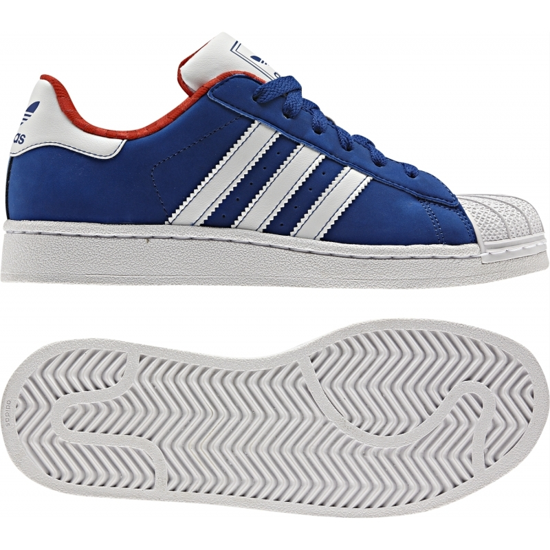 Adidas Superstar 2 J (36 40) (azulblanco)