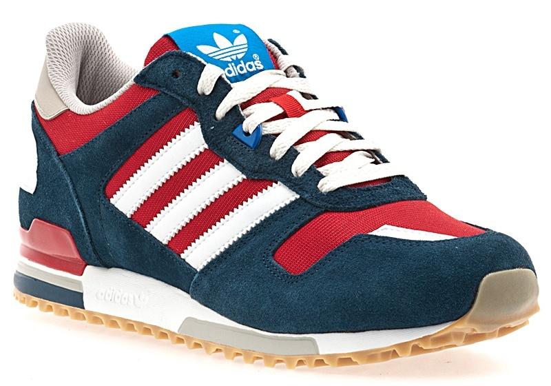 low priced 66009 16e58 Adidas Retro ZX 700 (azul/rojo/blanco) - manelsanchez.com