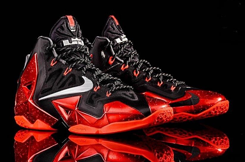 Nike LeBron rojas