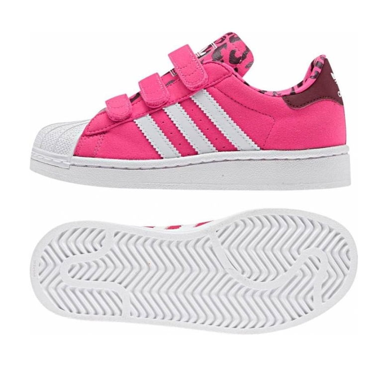 Adidas Superstar 2 CF C (28 35rosa leopardblanco)