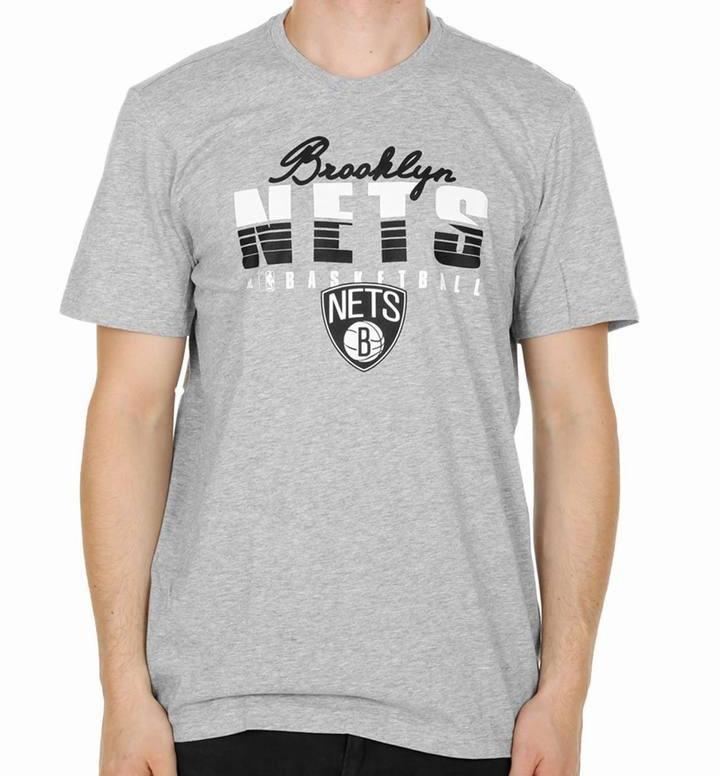 Adidas Camiseta NBA Brooklyn Nets Fan Winter (gris/blanco/negro)