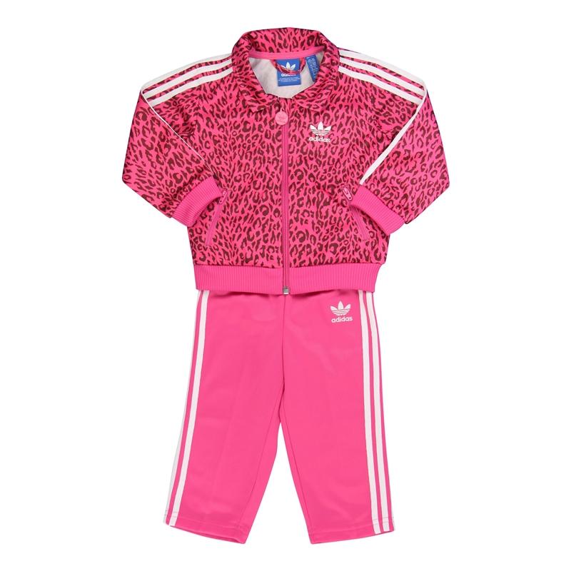 chandal adidas rayas rosas