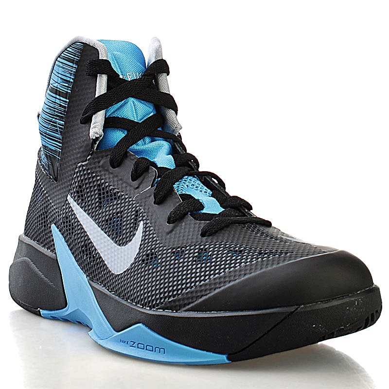 reputable site 5efac 2864d ... nike zoom hyperfuse 2013 blackblue (007 negro azul gris)