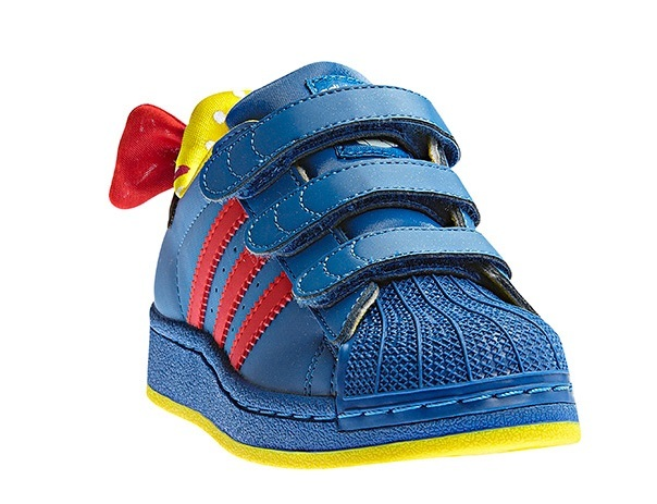 Adidas Superstar K Disney Blanca Nieves CF K Superstar (azul/rojo/amarillo) 955f0b