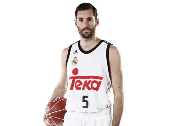 Camiseta Real Madrid Basket 1/ª 2014-15