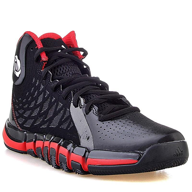 Adidas D Rose 773 IV - Zapatillas para Hombre, Color Negro/Rojo/Blanco, Talla 45 1/3