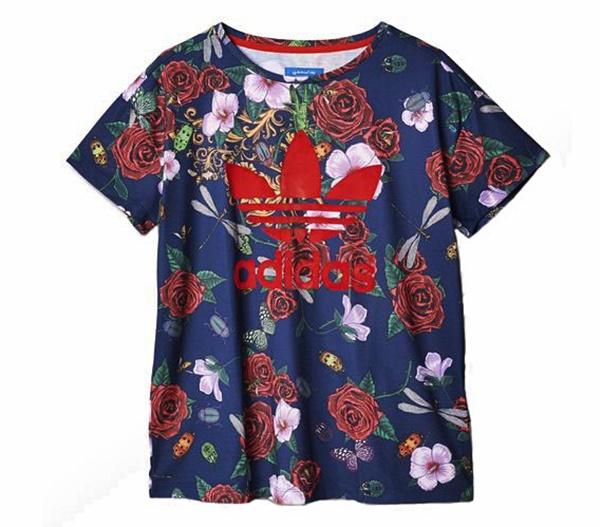 Camiseta Ora Roses Originals Adidas Rita multicolor gPYfwqn