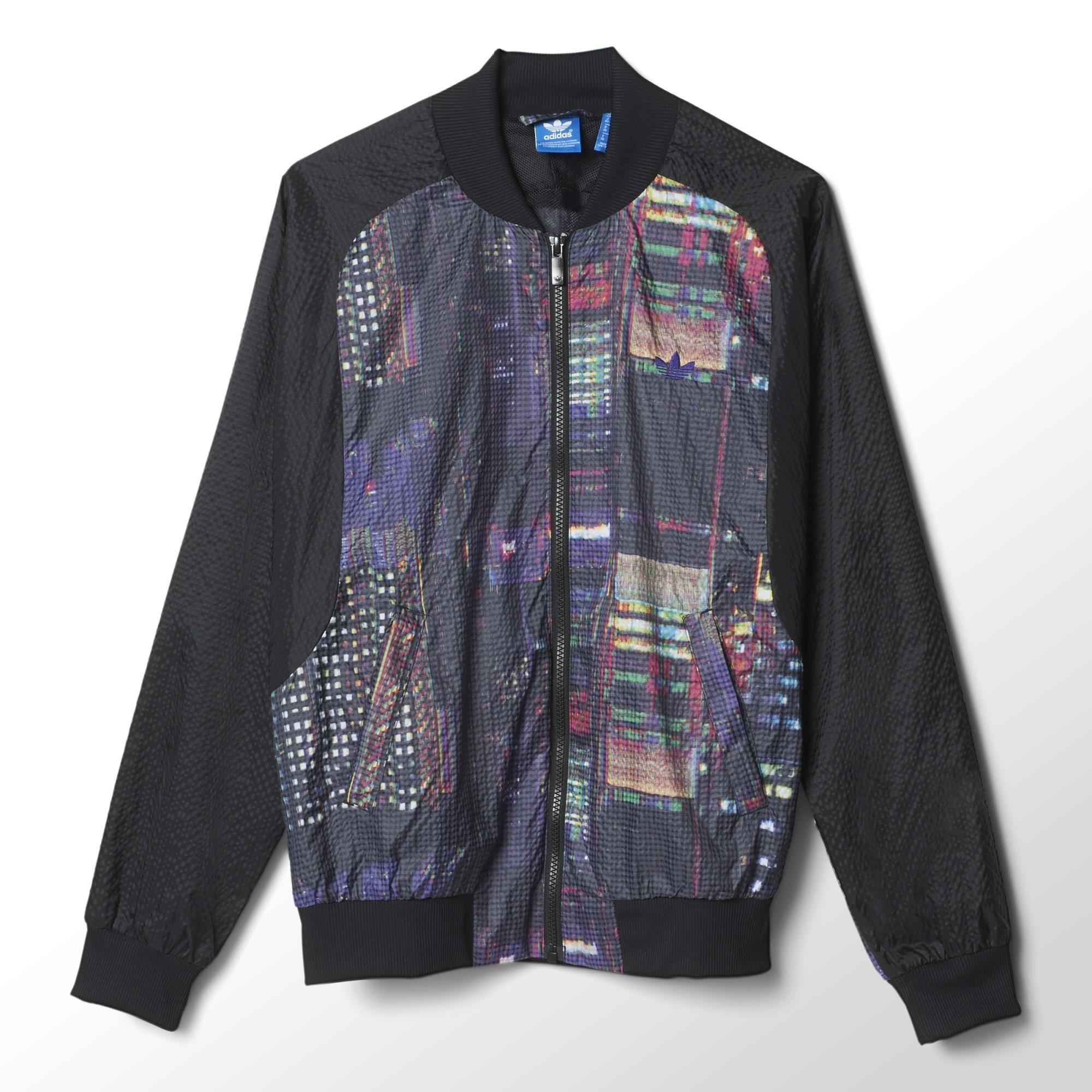 Adidas Tokio Mujer Chaqueta Superstarnegromulticolo Originals SUpqVzM