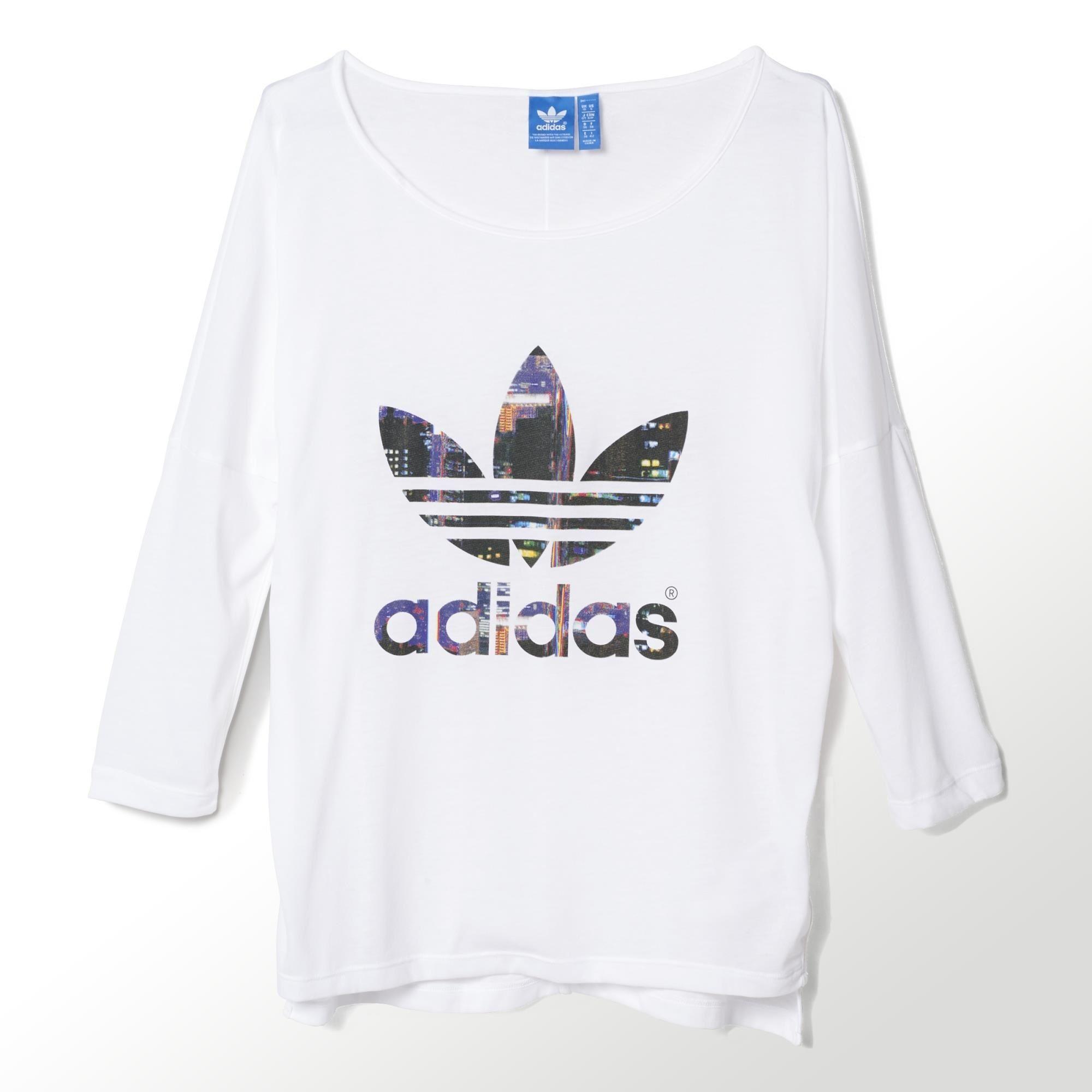 camiseta adidas originals mujer