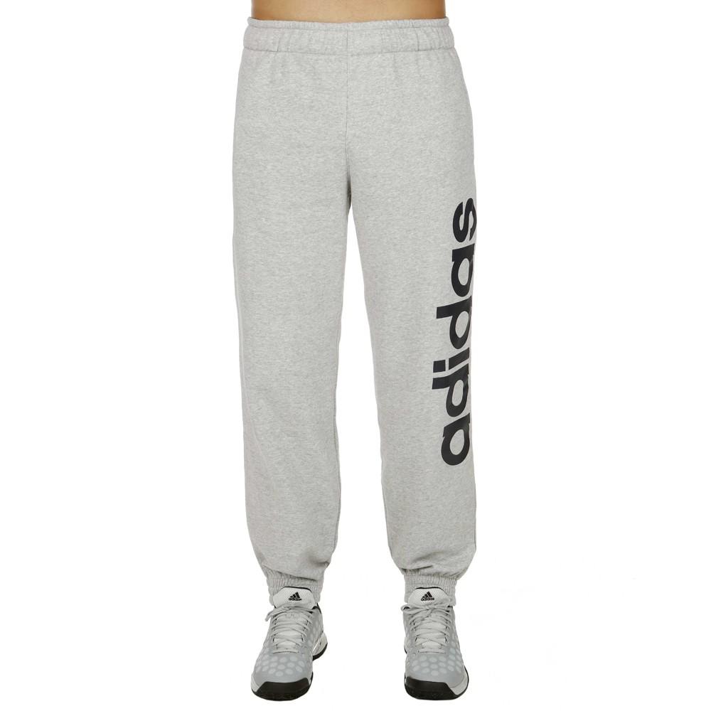 meet 2e028 fad22 Adidas Pantalón Sport Essentials Linear Regular (gris marino)