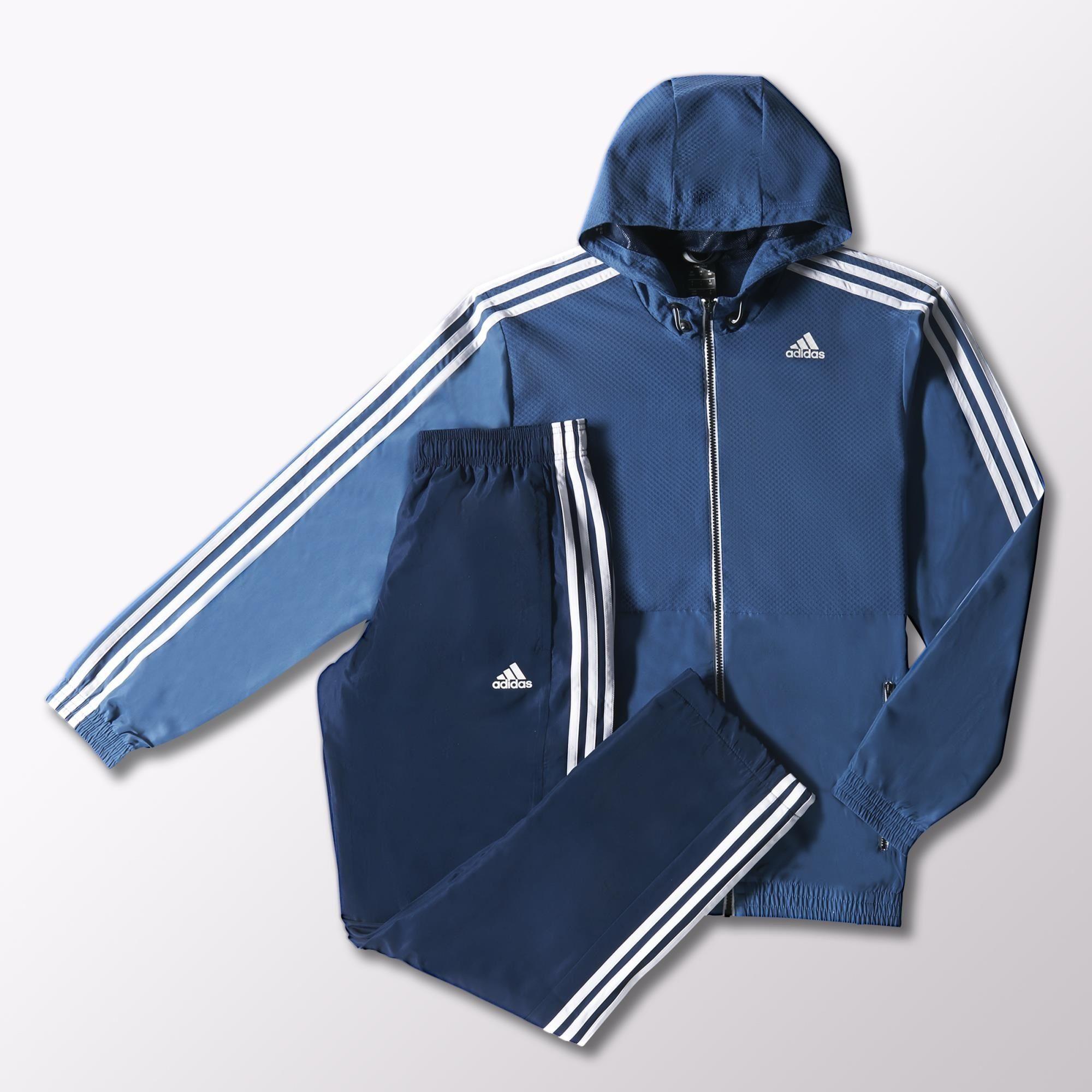 8a60859b9 Adidas Chánadal Hombre Training Climalite (azul/marino/blanco)