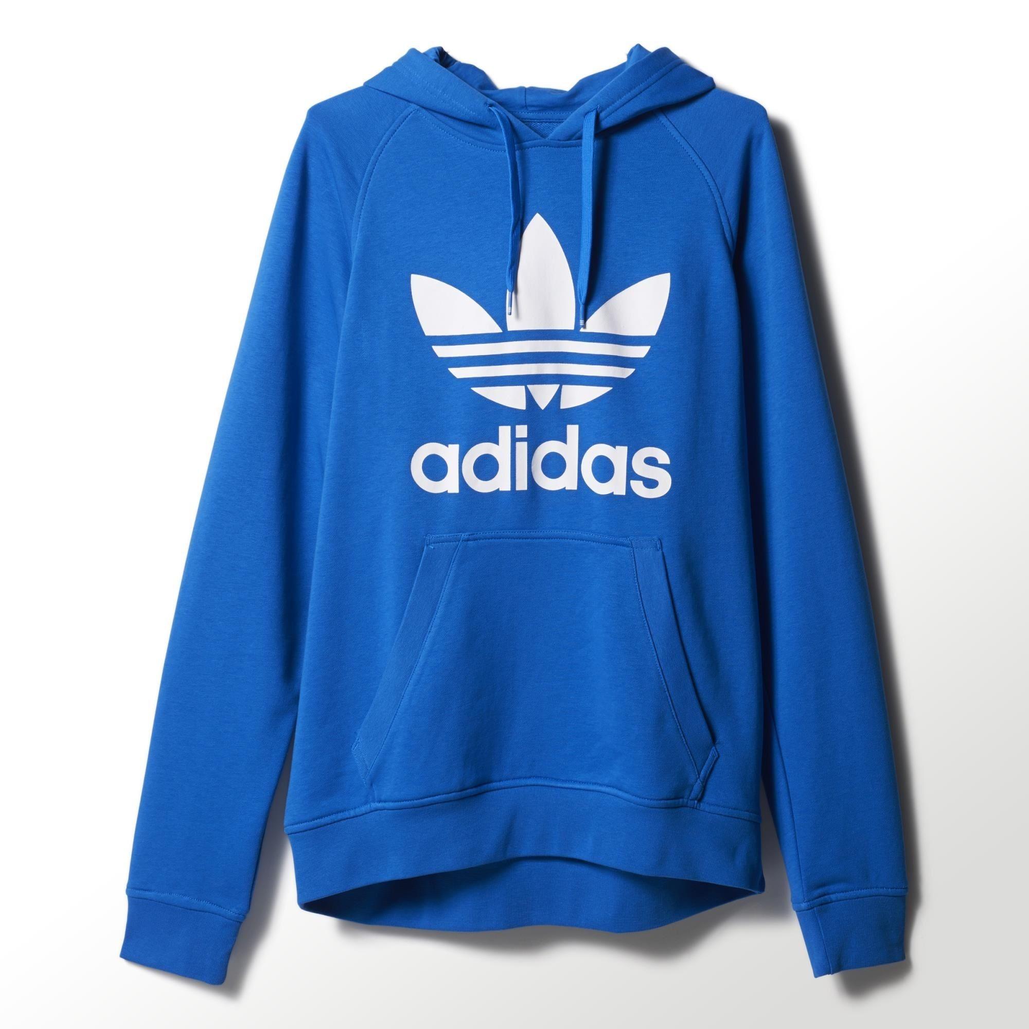 Originals Adidas Adidas Sudadera Originals Trefoilazulblanco CdoWQxerB