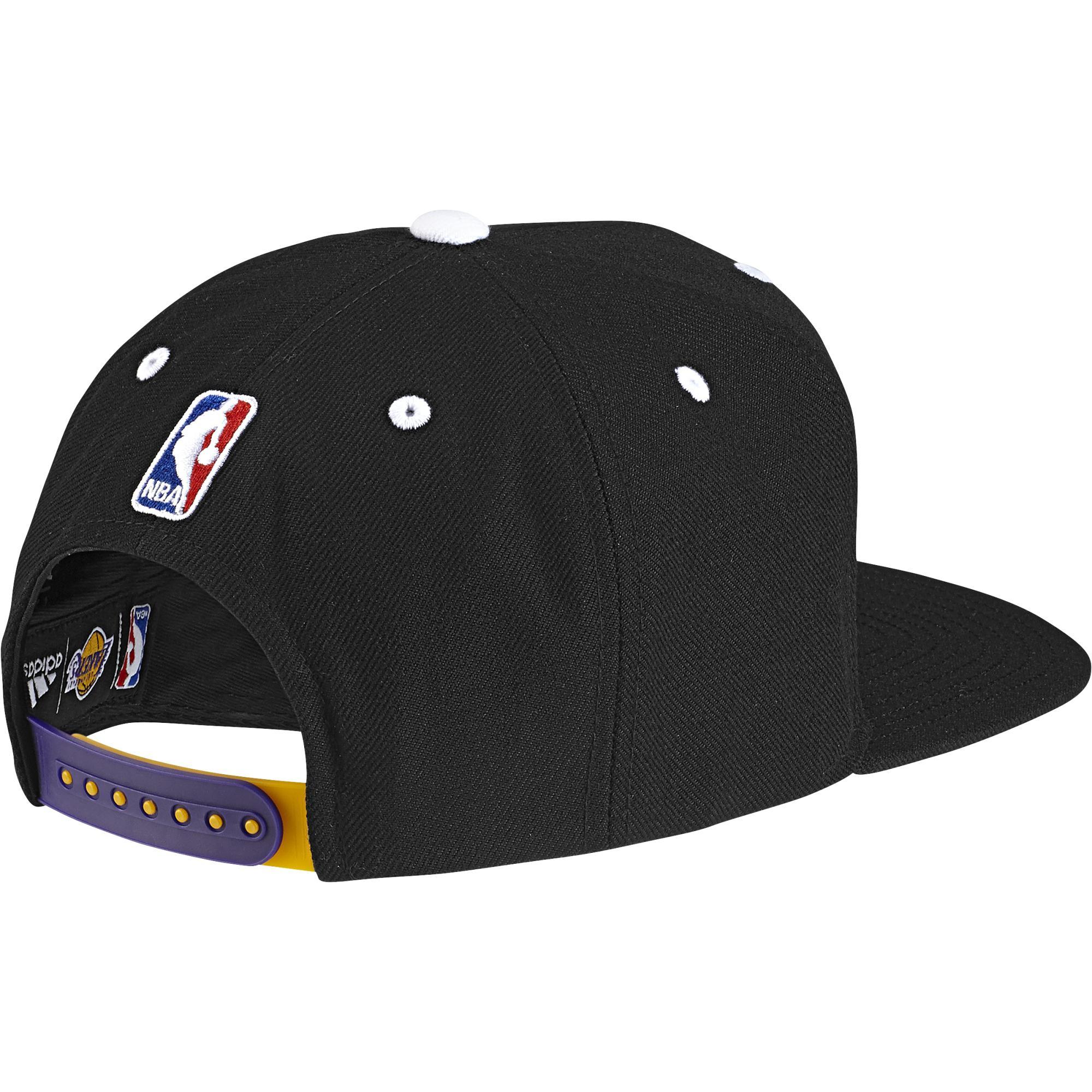 403adc322fb9 Adidas NBA Gorra Los Angeles Lakers Anthem Hat (negro)