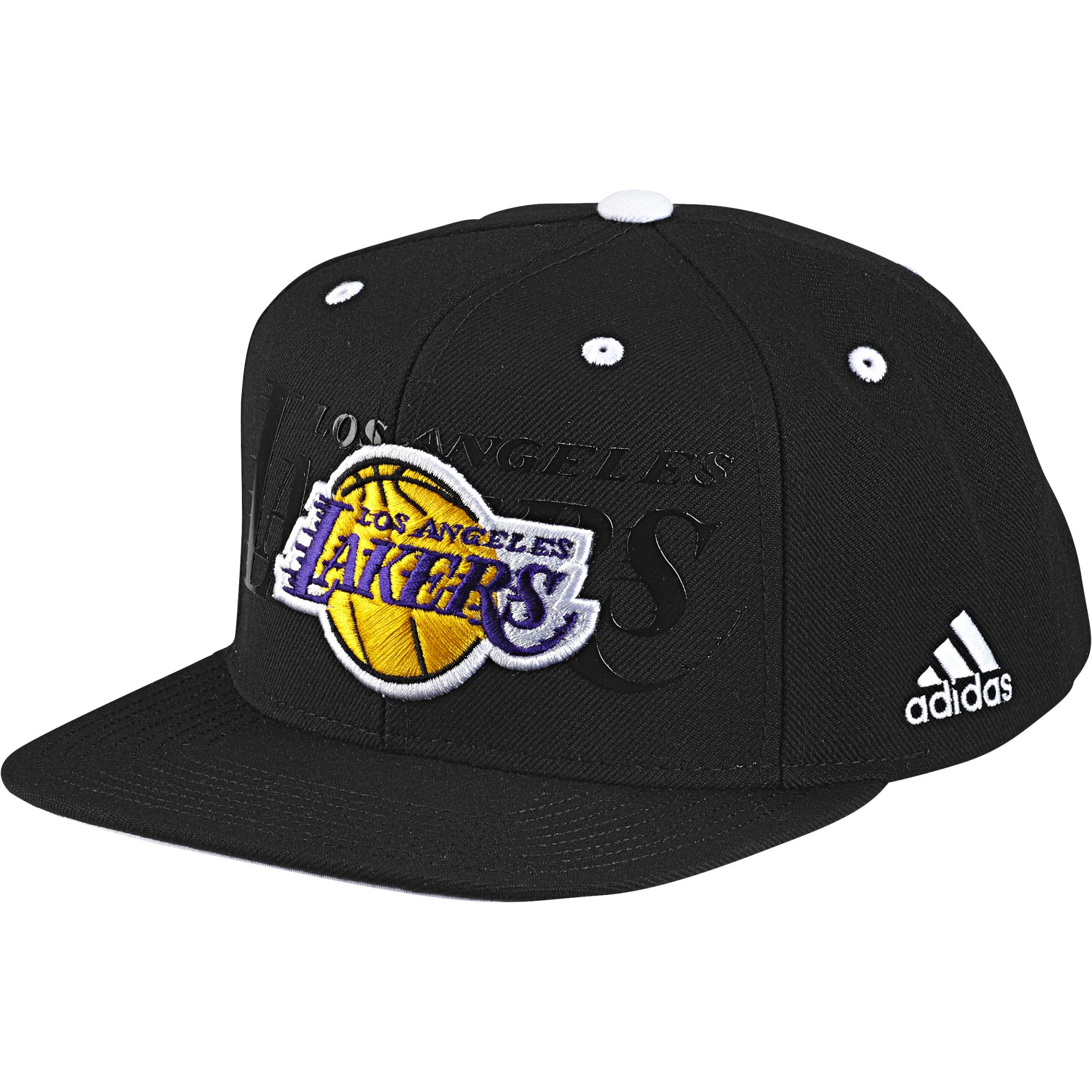 Adidas NBA Gorra Los Angeles Lakers Anthem Hat (negro) 763dfceaabf