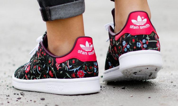 adidas stan smith flowers