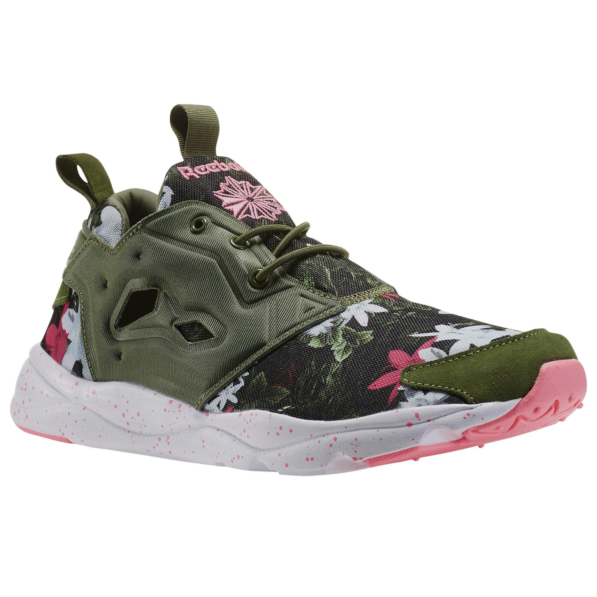 low priced c9cd0 9320a Reebok Classic Furylite NP (verde blanco rosa)