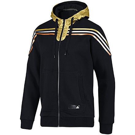 Hood Olympic Adidas negrooro Sudadera Sf twtE1Hq