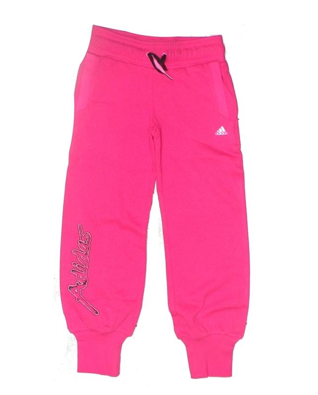 6918b930a8a59 Adidas Pantalón Niña Young Girl B IT Pant (rosa ultra negro)