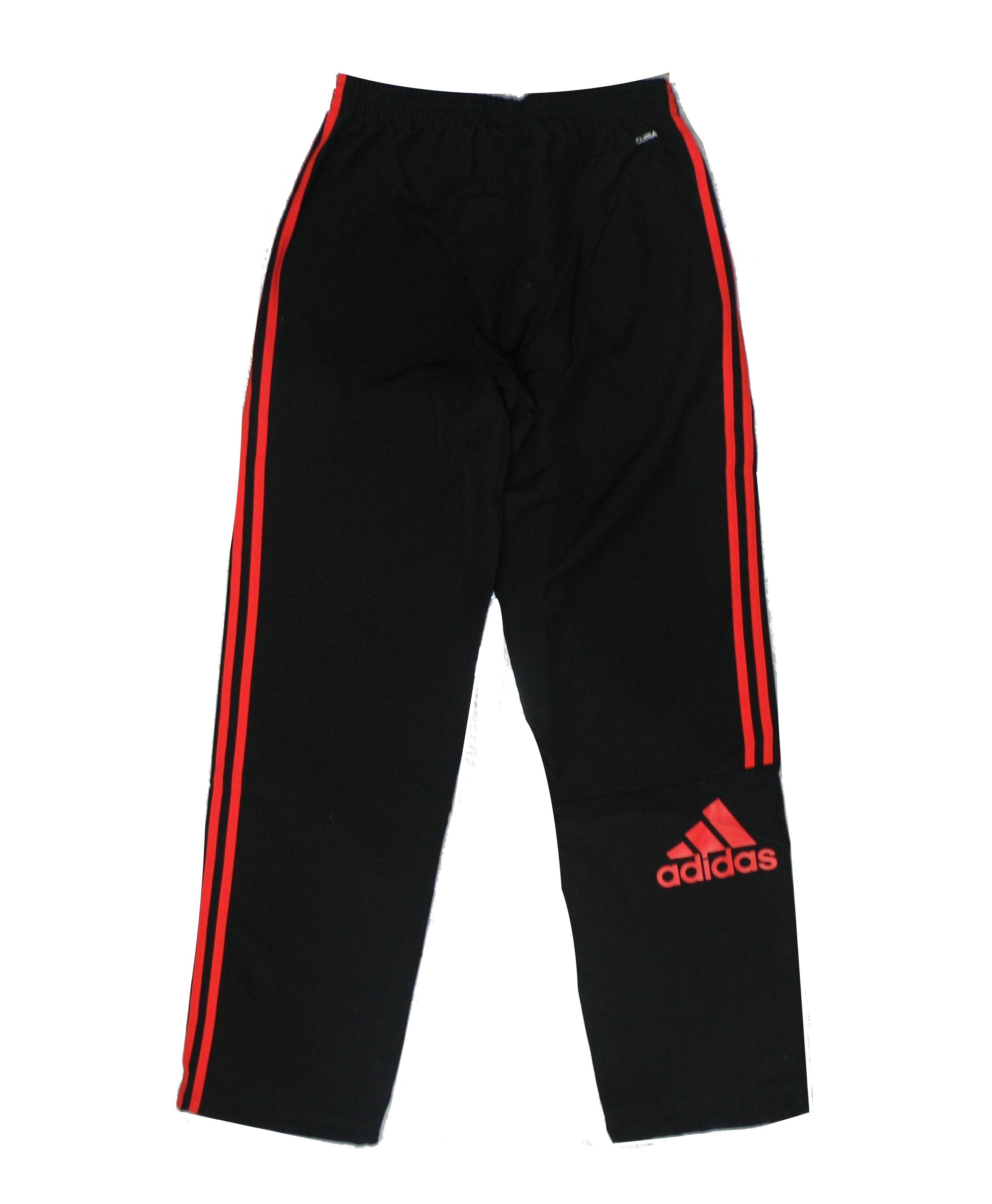 venta directa de fábrica mejor selección de 2019 nueva temporada Adidas Pantalón Logo Woven (negro/naranja)