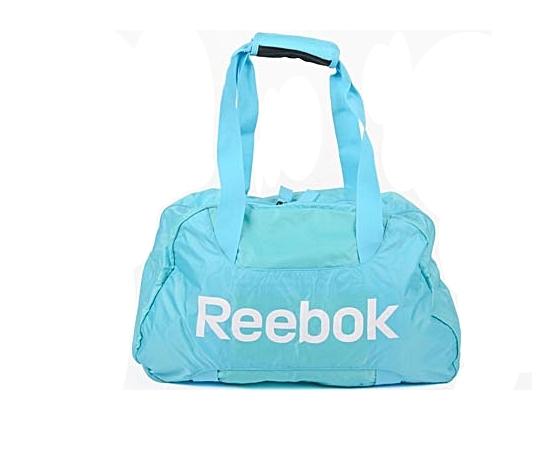 81ef14cf06a Reebok Bolsa Sport Essential Duffle (Azul Celeste)
