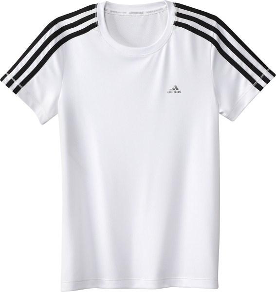 modelos de gran variedad precio especial para super popular Adidas Young Girls ClimaCool Tee (blanco)