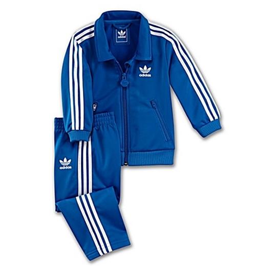 f205ed4d6 Adidas Chándal Bebé Inf Firebird TS (azul/blanco)