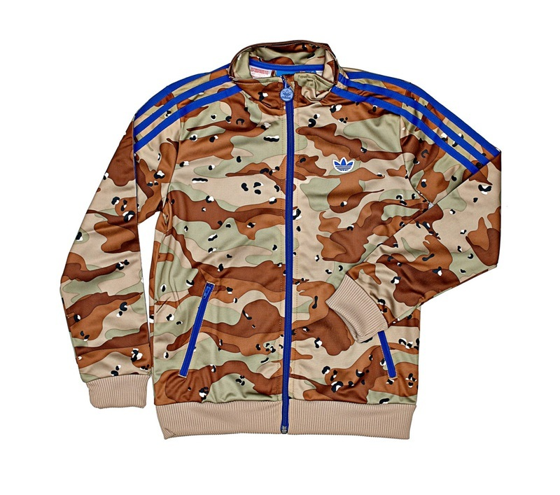 Militarazul Tt Style camo Adidas Chaqueta Firebird Junior qv00BP