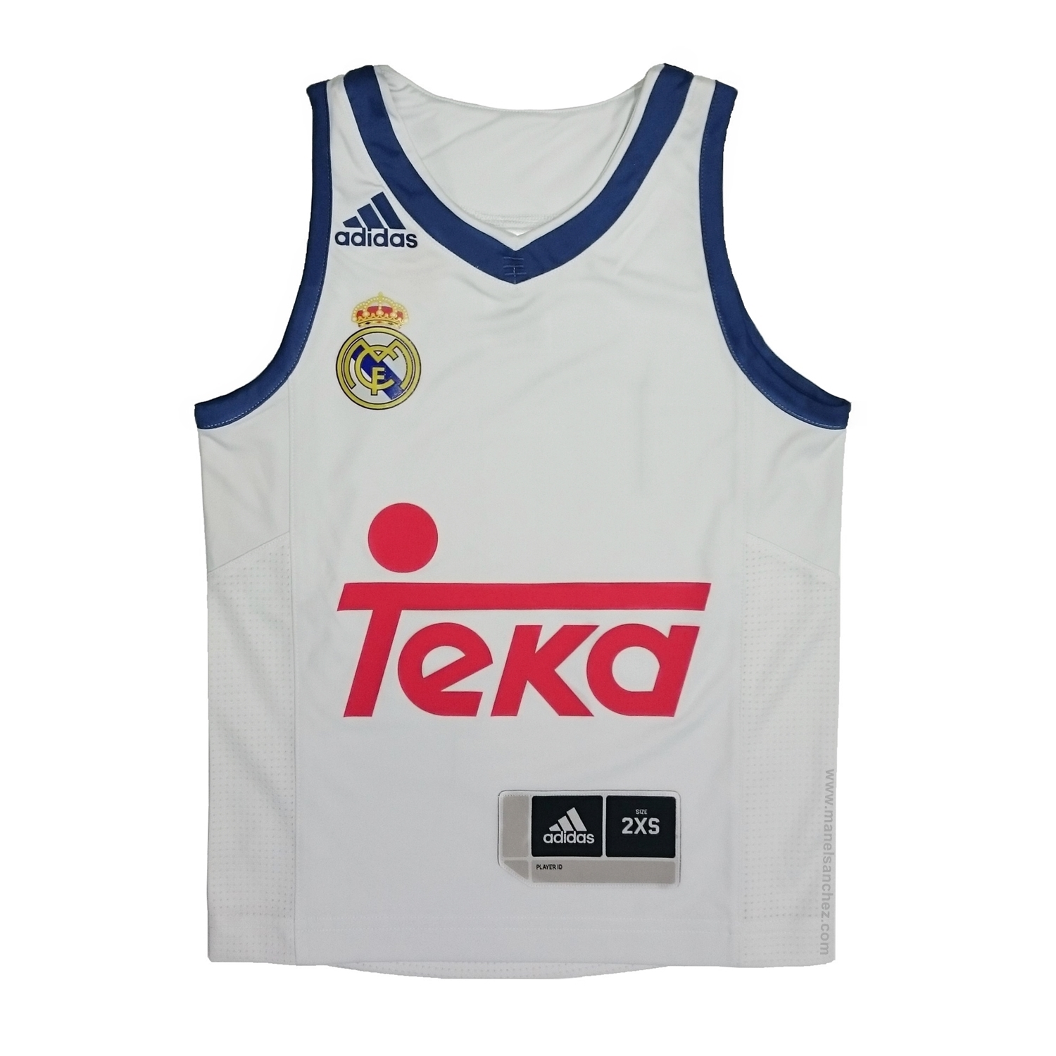 Equipacion Madrid 1º 201617 Basket Real Camiseta Adidas Youth bWDIEH9Ye2