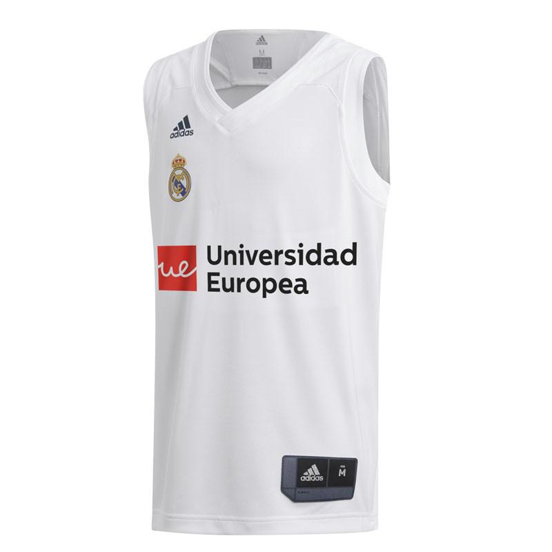 aea8751918a Adidas Camiseta Real Madrid 2018/2019 Réplica (1º Equipación)