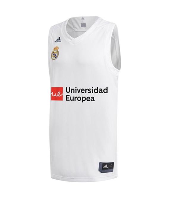 be52a8da2a9 Adidas Camiseta Real Madrid Niño 2018/2019 Réplica (1º Equipación)