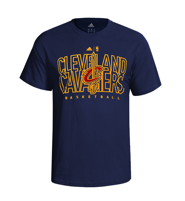 ccb10fd34366b Adidas Camiseta Youth 3 NBA Cleveland Cavaliers (marino amarillo)