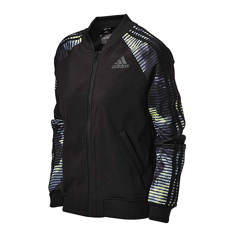 Adidas Chaqueta Mujer Tracktop Training Climalite (negra)