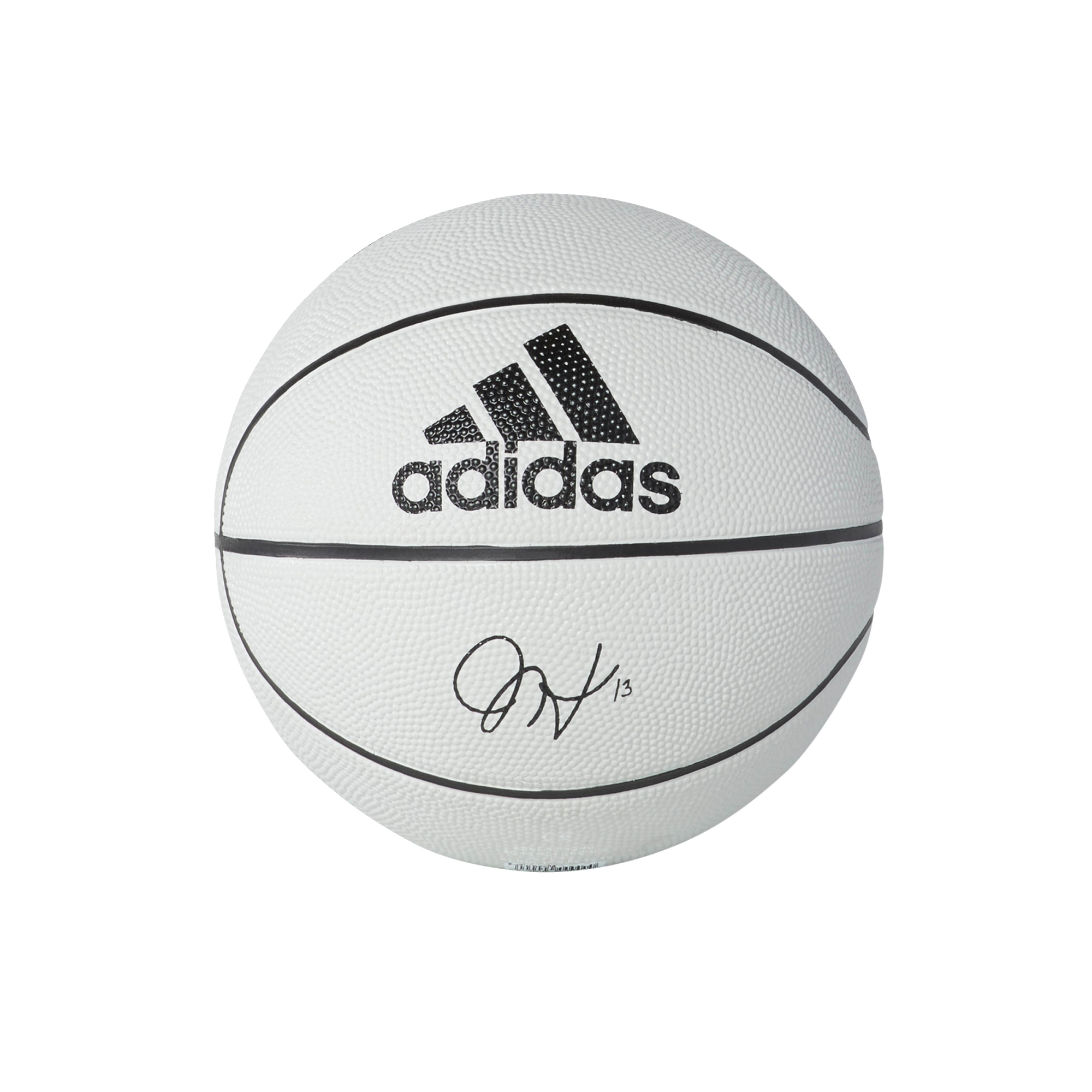 90da4076cc Adidas James Harden Mini Ball (3) (stone black)