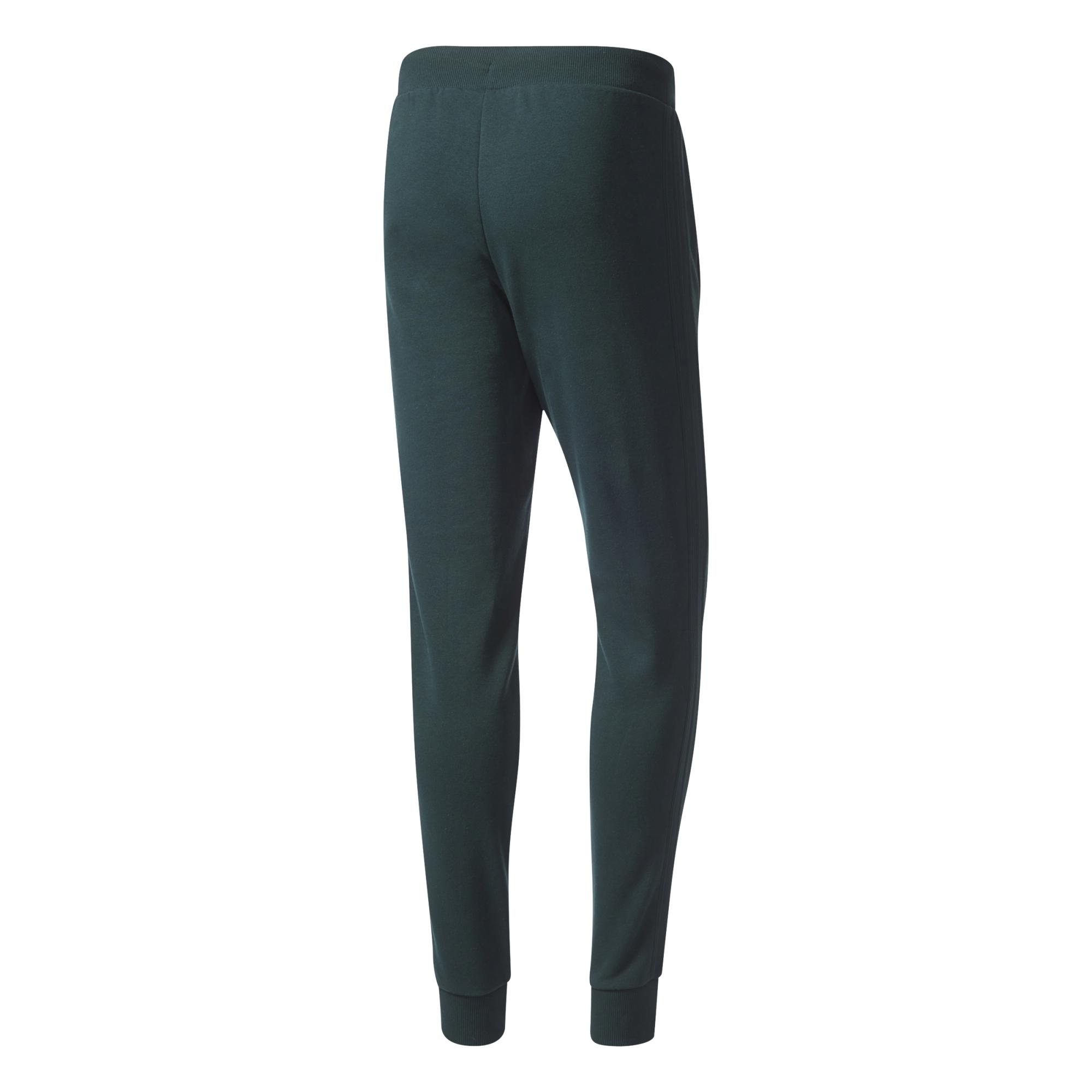 8f6cc44ba1c5 Adidas Originals 3 Striped Pant (green night)